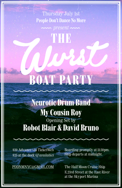 Wurst Boat Party 2010